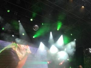 Aneta auf der Bühne 2
