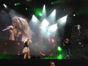 Aneta auf der Bühne 1